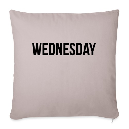 Wednesday - Sofa pillowcase 17,3'' x 17,3'' (45 x 45 cm)