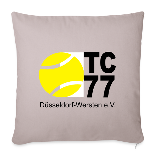 TC 77 Logo - Sofakissenbezug 44 x 44 cm