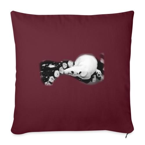 Nakuhiiri, harmaasävyinen - Sohvatyynyn päällinen 45 x 45 cm