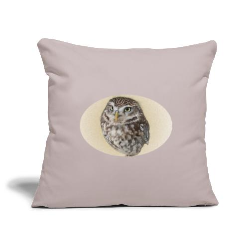 magic owl background gold transparent - Sofa pillowcase 17,3'' x 17,3'' (45 x 45 cm)