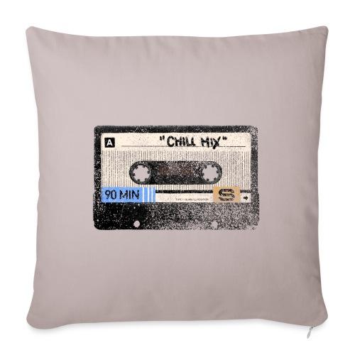 Music cassette chill mix - Pudebetræk 45 x 45 cm