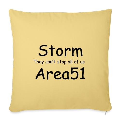 Storm Area 51 - Sofa pillowcase 17,3'' x 17,3'' (45 x 45 cm)