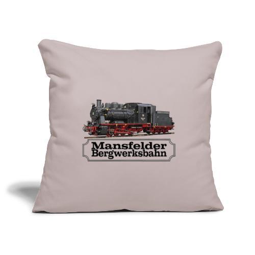 mansfelder bergwerksbahn dampflok 1 - Sofakissenbezug 44 x 44 cm