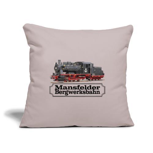 mansfelder bergwerksbahn dampflok 3 - Sofakissenbezug 44 x 44 cm