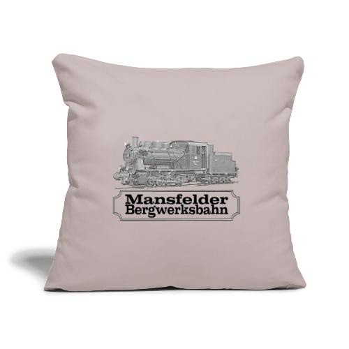 mansfelder bergwerksbahn dampflok 2 - Sofakissenbezug 44 x 44 cm