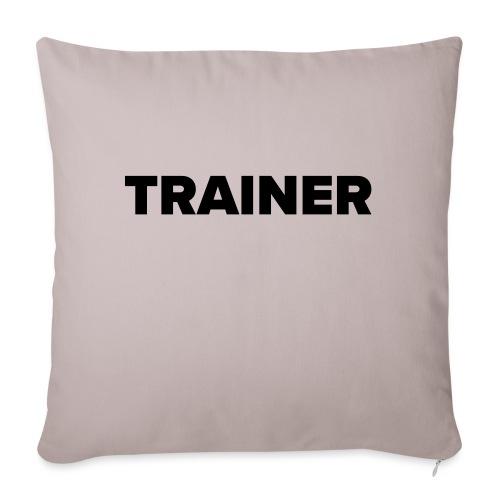 Workout Trainer Tshirt - Sofakissenbezug 44 x 44 cm