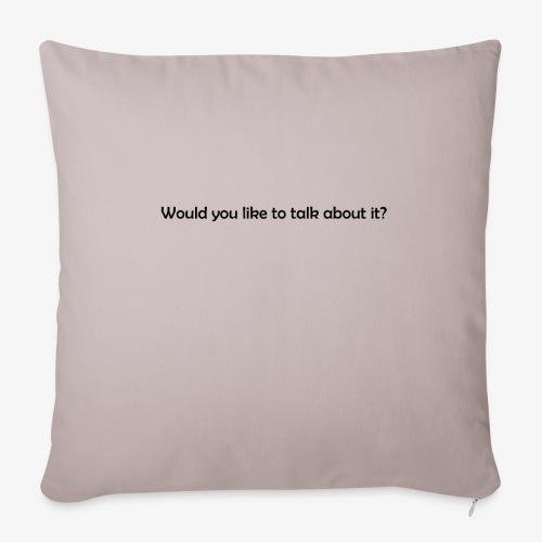 talk - Poszewka na poduszkę 45 x 45 cm