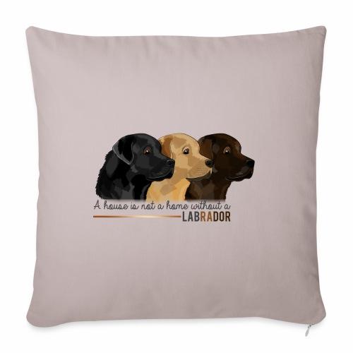 Labrador - Housse de coussin décorative 45x 45cm