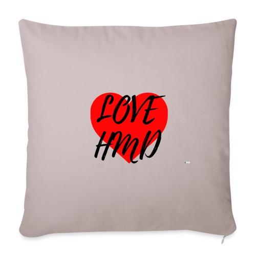 Love HMD - Funda de cojín, 45 x 45 cm