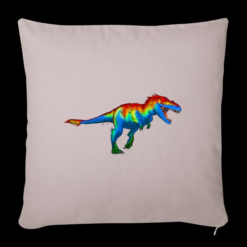 T-Rex - Sofa pillowcase 17,3'' x 17,3'' (45 x 45 cm)