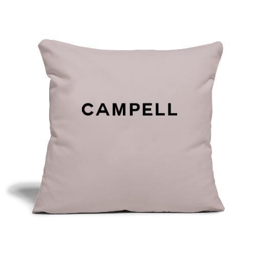 campell schriftzug2 - Sofakissenbezug 44 x 44 cm