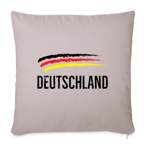 Deutschland, Flag of Germany - Sofa pillowcase 17,3'' x 17,3'' (45 x 45 cm)