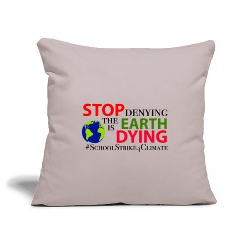 School Strike 4 Climate - Sierkussenhoes, 45 x 45 cm