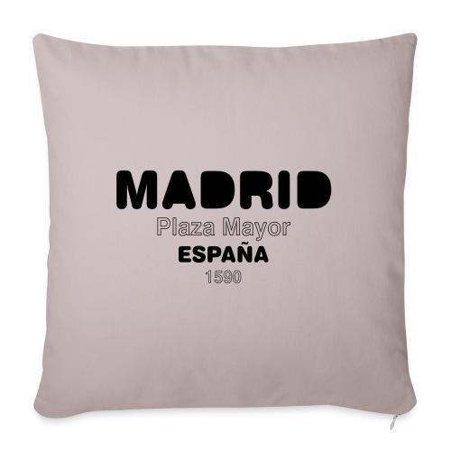 Madrid ESPAÑA - Housse de coussin décorative 45x 45cm