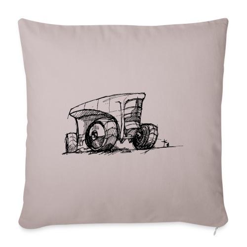 Futuristic design tractor - Sofa pillowcase 17,3'' x 17,3'' (45 x 45 cm)