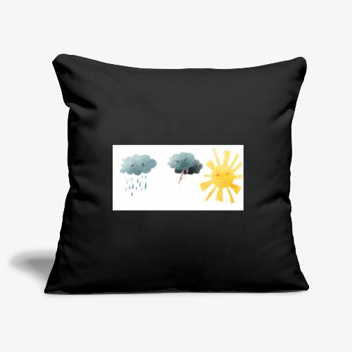il meteo dentro di noi - Copricuscino per divano, 45 x 45 cm