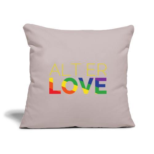 Alt er Love   SKAM   LGBT   Pride - Sofakissenbezug 44 x 44 cm