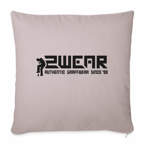 2wear org tagline logo blk - Pudebetræk 45 x 45 cm