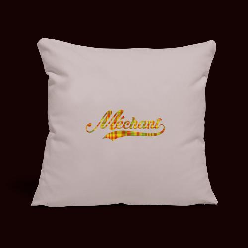 méchant madras - Housse de coussin décorative 45x 45cm