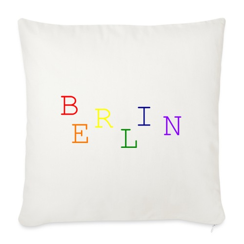 Berlin Rainbow #1 - Sofakissenbezug 44 x 44 cm