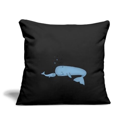 Little Whale - Sofakissenbezug 44 x 44 cm