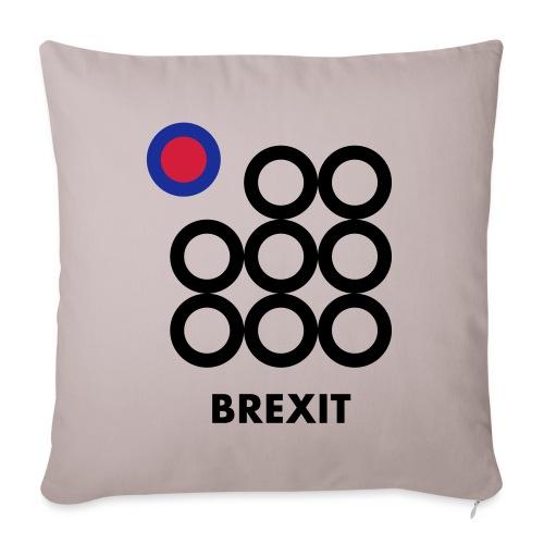 Brexit - Copricuscino per divano, 45 x 45 cm