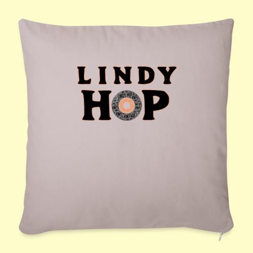 Lindy Hop Dance vintage Tanz T-shirt - Sofakissenbezug 44 x 44 cm