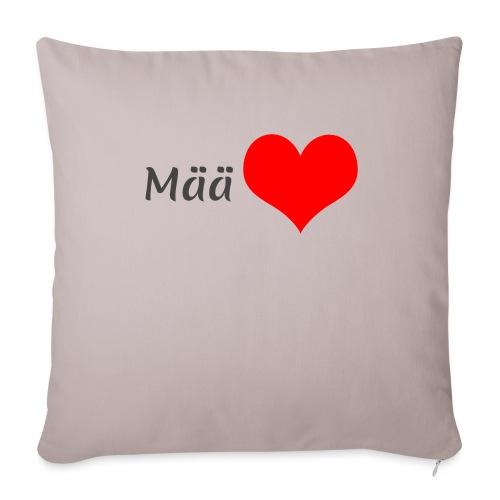 Mää sydän - Sohvatyynyn päällinen 45 x 45 cm