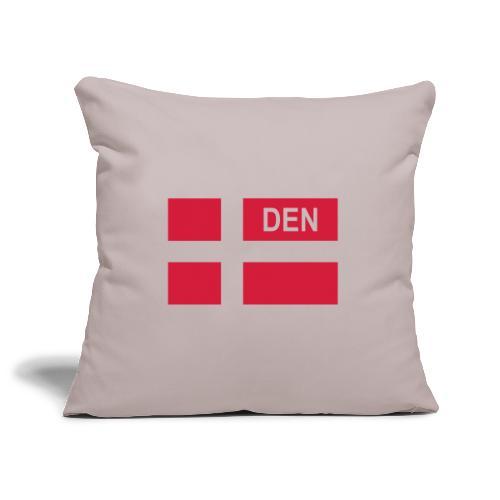 Danish Tactical Flag Denmark - Danmark - DEN - Soffkuddsöverdrag, 45 x 45 cm