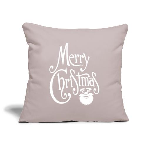 Merry Christmas - Sofa pillowcase 17,3'' x 17,3'' (45 x 45 cm)