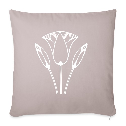 Lotus - Sofa pillowcase 17,3'' x 17,3'' (45 x 45 cm)