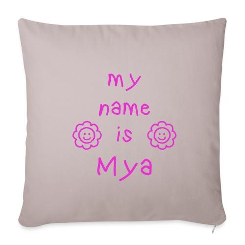 MYA MY NAME IS - Housse de coussin décorative 45x 45cm
