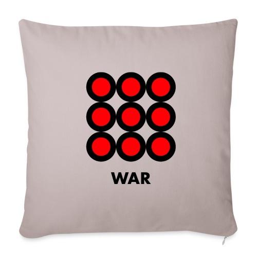 War - Copricuscino per divano, 45 x 45 cm