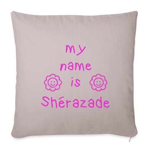 SHERAZADE MY NAME IS - Housse de coussin décorative 45x 45cm