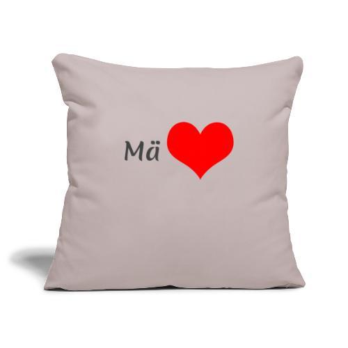 Mä sydän - Sohvatyynyn päällinen 45 x 45 cm