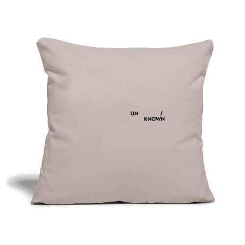 TSCHNIK | Known/Unknown - Sofa pillowcase 17,3'' x 17,3'' (45 x 45 cm)