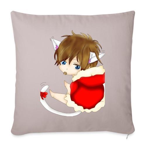 Cute Christmas Fox boy - Sofakissenbezug 44 x 44 cm