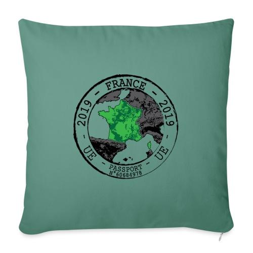 TAMPON - FRANCE - Housse de coussin décorative 45x 45cm