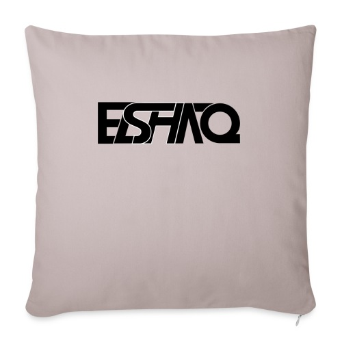 elshaq black - Sofa pillowcase 17,3'' x 17,3'' (45 x 45 cm)