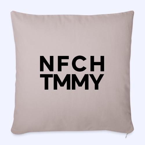 Einfach Tommy / NFCHTMMY / Black Font - Sofakissenbezug 44 x 44 cm