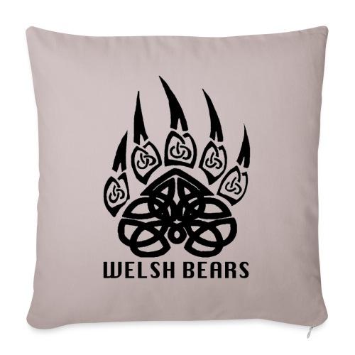 Welsh Bears - Sofa pillowcase 17,3'' x 17,3'' (45 x 45 cm)