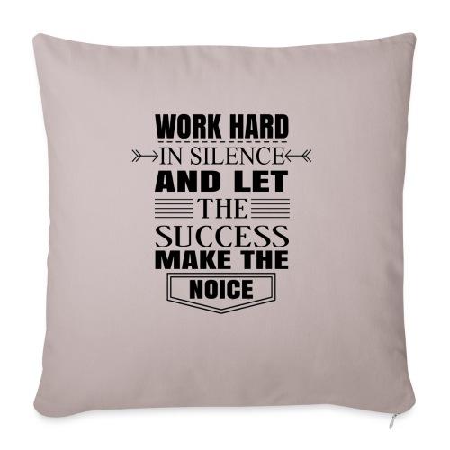 Work hard - Sohvatyynyn päällinen 45 x 45 cm