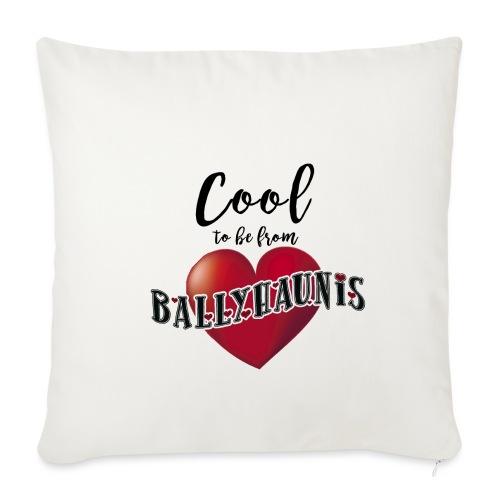 Ballyhaunis tshirt Recovered - Sofa pillowcase 17,3'' x 17,3'' (45 x 45 cm)