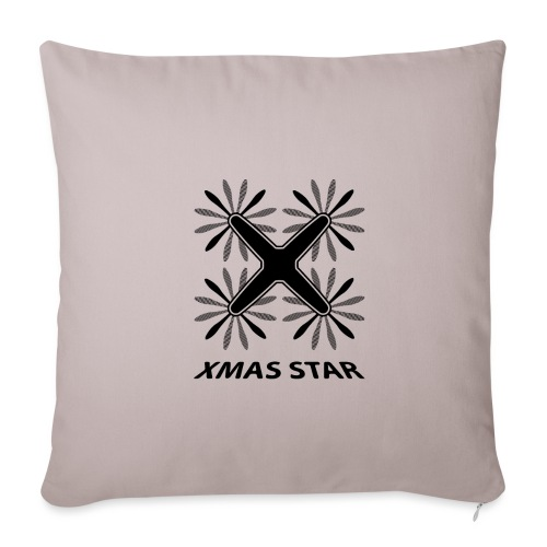 Nouvelle étoile de Noël - Housse de coussin décorative 45x 45cm