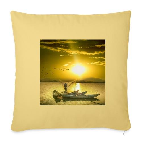 Tramonto - Copricuscino per divano, 45 x 45 cm