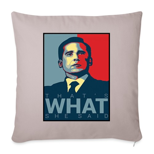 The Office Threat Level Midnight Movie - Sofa pillowcase 17,3'' x 17,3'' (45 x 45 cm)