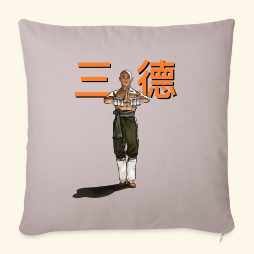 Gordon Liu - San Te - Monk (officiel) 9 prikker - Pudebetræk 45 x 45 cm