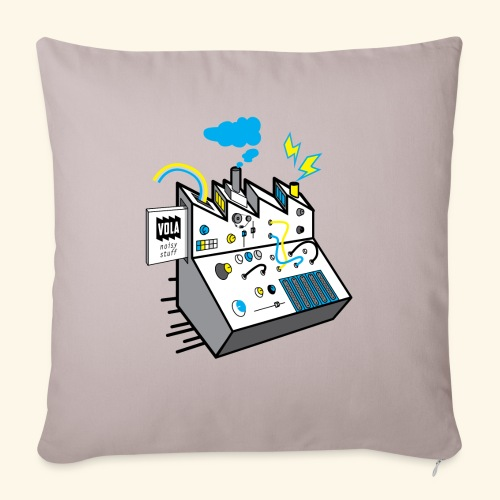 Noisy Factory - Sohvatyynyn päällinen 45 x 45 cm