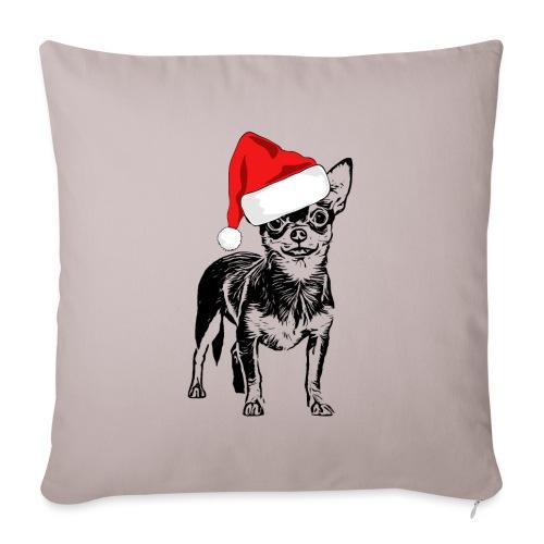 Weihnachten Chihuahua Hunde Geschenk Geschenkidee - Sofakissenbezug 44 x 44 cm