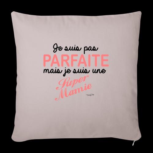 Parfaite Mamie - Housse de coussin décorative 45x 45cm